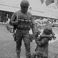 Памятник вежливым людям :: Валентин Семчишин