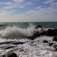 Февральское море :: Serega Денисенко