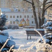 Воскресная школа. Городской зимний пейзаж. :: Олег Бабурин
