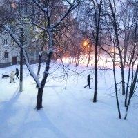 Вечером в моем городе :: Елена Семигина