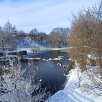 Снег и вода :: Николай Филоненко