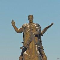 Памятник князю Всеславу Брячиславичу (Чародею), в Полоцке! :: Андрей Буховецкий