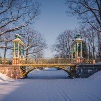 Малый китайский мостик. :: Олег Бабурин