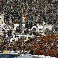 Деревушка  на скалах , Франконская  Швейцария :: backareva.irina Бакарева