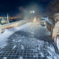Снежная ночь в Севастополе :: Алексей Латыш