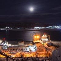 огни Кольского залива :: Алиса Ворфоломеева