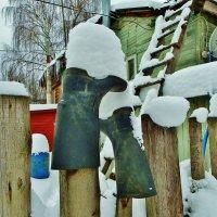 Еще послужат, когда снег растает :: Святец Вячеслав