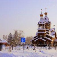 2 марта . Храм Богоявления Господне . :: Мила Бовкун