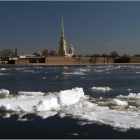 Ледоход на Неве *** Ice drift on the Neva :: Aleksandr Borisov