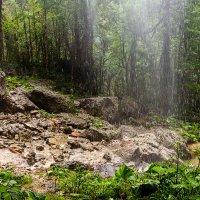 """Водопад в горах. :: """"Наиль Батталов"""