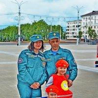 По родительским  стопам... :: Vladimir Semenchukov