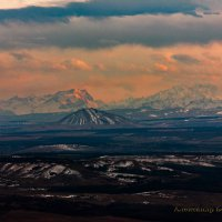 Пейзаж с горы Верблюд :: Александр Богатырёв