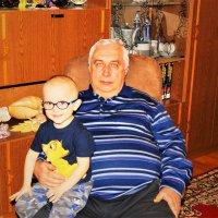 Давид с дедом. :: Александр Владимирович Никитенко