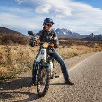 Мотоциклист :: Юрий Глаголистов