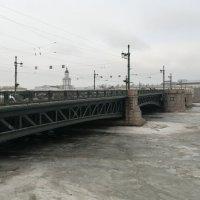 Дворцовый мост в Санкт-Петербурге :: Митя Дмитрий Митя