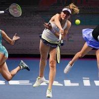 Грации тенниса :: irina Schwarzer