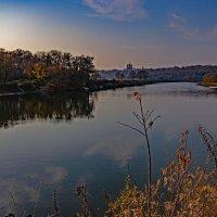 Вечерний пейзаж. Андреевский луг в октябре :: Евгений