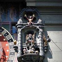 Швейцария. Берн. Фрагмент часового механизма башни. :: Владимир Драгунский