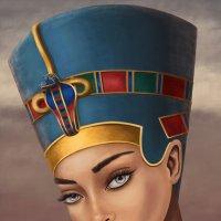 Образ Нефертити. :: Наталия Львова