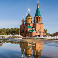С праздником Благовещения Пресвятой Богородицы всех православных христиан! :: Николай Зиновьев