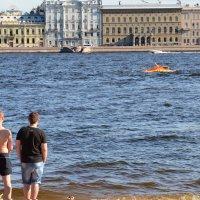 Плыла качалась лодочка. :: Валерий Пославский
