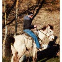 Демерджийский всадник...  Под хорошим ездоком кони сруцца!!! :: Сергей Леонтьев
