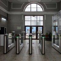 Поселковый ж/д вокзал :: AleksSPb Лесниченко