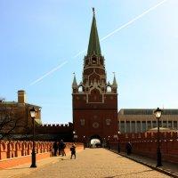 Троицкая башня Кремля. :: веселов михаил