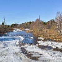 Река весной. :: Наталья