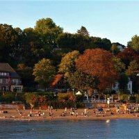 Пляж Гамбурга :: Nina Yudicheva