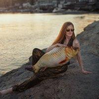 Золотая рыбка :: Galina Zabruskova