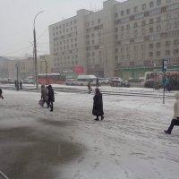 Зима зашла на часок погостить :: Андрей Макурин