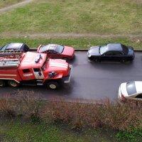 Где-то пожар, а машине не проехать. :: Ирина ***