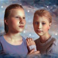 Сестрёнки :: Ирина Антонова