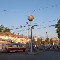 Из жизни Самарских трамваев. :: Олег Манаенков