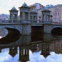 Утро на Ломоносовском мосту. :: веселов михаил