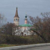 На въезде в Суздаль :: Юрий Гилёв