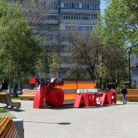 Шагает май широким шагом, несёт Победу алым стягом! :: Татьяна Смоляниченко