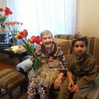 Прабабушку поздравляет итальянский мальчик Риккардо... :: Тамара (st.tamara)