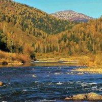 На реке Усе в сентябре :: Сергей Чиняев