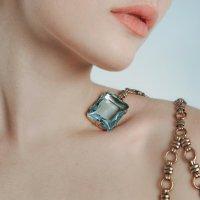 Blue crystal :: Olga Burmistrova