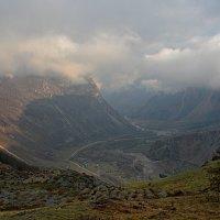 Утро в долине реки Чулышман :: Геннадий Ячменев