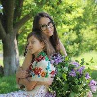 Мирослава и мама Вероника :: Ольга Оригана Ваганова