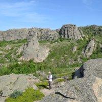 А вокруг горы.... :: Андрей Хлопонин
