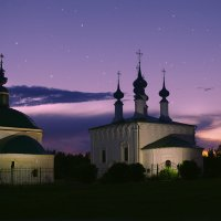 Вечер над Суздалем :: Евгений