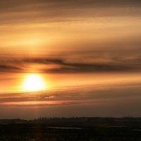 Линии весеннего заката :: Сергей Шаталов