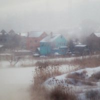 """Утро туманное, утро седое..."" :: Олег Попов"