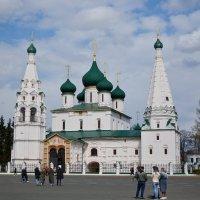 Ярославль.Церковь Ильи Пророка 1647 г. :: Владислав Иопек
