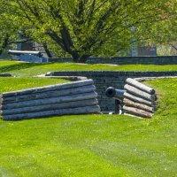 Бруствер в крепости Форт Йорк, Торонто :: Юрий Поляков
