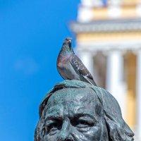 М.И. Глинка и голубь. :: Владимир Питерский